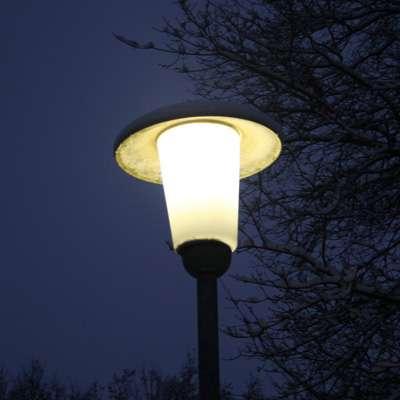 welche lampen sind in straßenlaternen