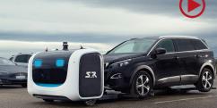 Flughafen Lyon: Roboter parken nun das Auto