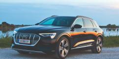 Audi e-tron: Mucksmäuschenstill nach Italien stromern