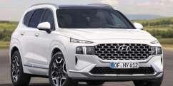 Neuer Hyundai Santa Fe auch als Hybrid und PHEV