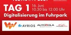 Digitalisierung im Fuhrpark am 16.06. – Programm & Anmeldung