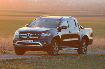 Mercedes X 350 d: Neuer Pick-up-Star