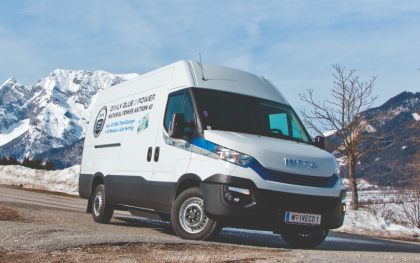 Iveco Daily CNG: Alternativantrieb mit Vollausstattung