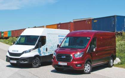 Vergleichstest: Iveco Daily VS Ford Transit