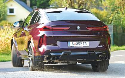 BMW X6 M Competition im Test