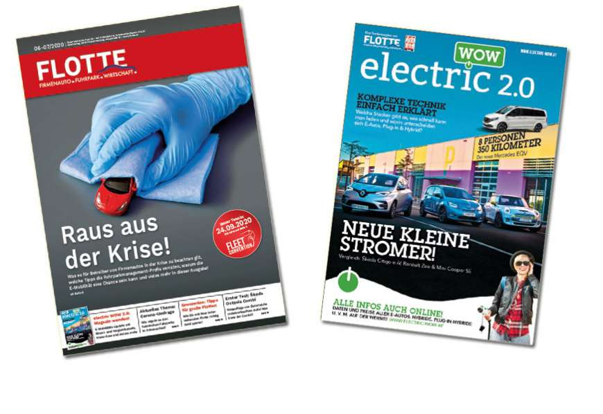 Digitalausgabe online: FLOTTE 06/07-2020 & electric WOW 2.0
